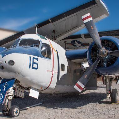 Grumman S-2E/G Tracker at the Palm Springs Air Museum