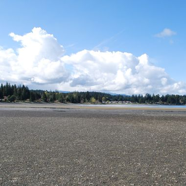 TIDES OUT in CRAIG BAY, Parksville, B.C. - April 1st, 2015