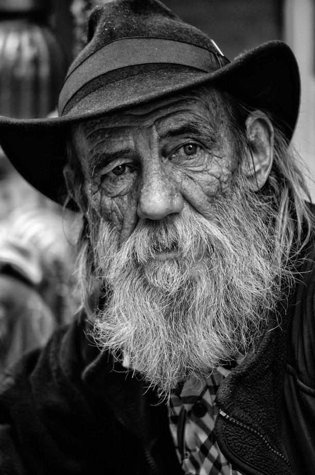 Not Your Average Character by maxxchildress - A Black And White World Photo Contest