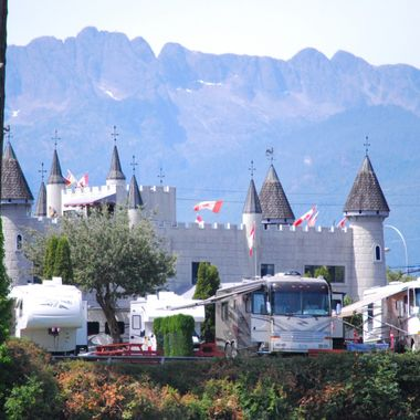TOWERS UPON TOWERS - Parksville Bay beach Castle Mini Golf at beach - June 30,  2015
