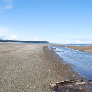 TIDES OUT in CRAIG BAY, B.C. - April 1, 2015