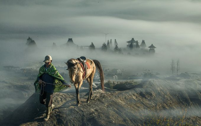 Walking on a cloud  by kenvinpinardy - World Expeditions Photo Contest
