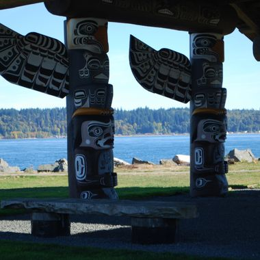 Totem Poles of Campbell River - Oct 7, 2012
