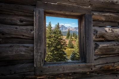 Window Across the Valley