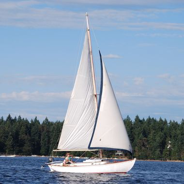 SET SAIL in Nanaimo harbour - Aug 2013