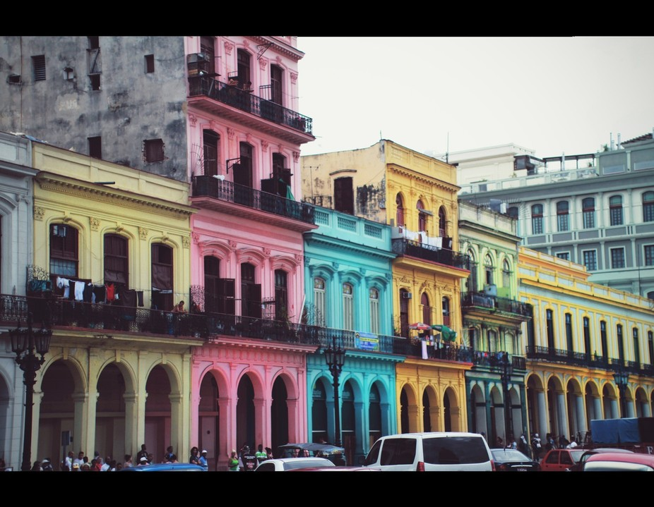 This photo is from a trip in the heart of the city Havana, Cuba. A place of almost going back in ...