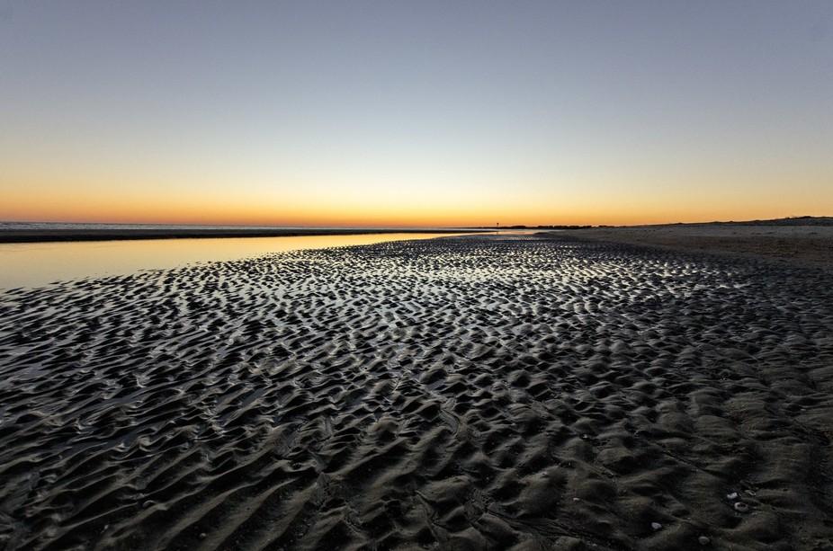 The barren beach felt as extraterrestrial as it looks.