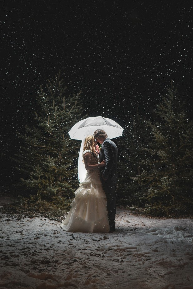 Winter wonderland wedding by phirunsam - Our World At Night Photo Contest