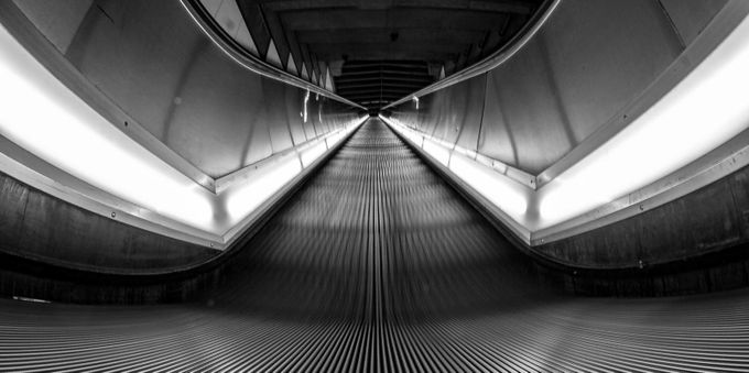 Escalate by kieranbertram - Clever Angles Photo Contest