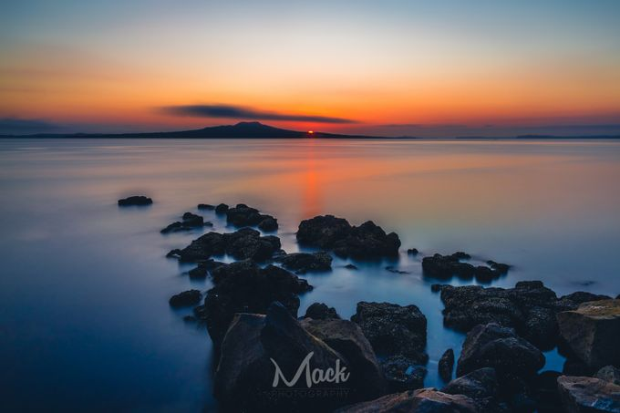 Rangitoto Sunrise by Mike_MacKinven