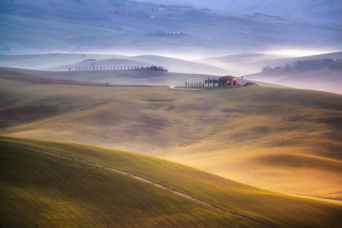 Lost in the mist.. by elenapardini - Rural Vistas Photo Contest