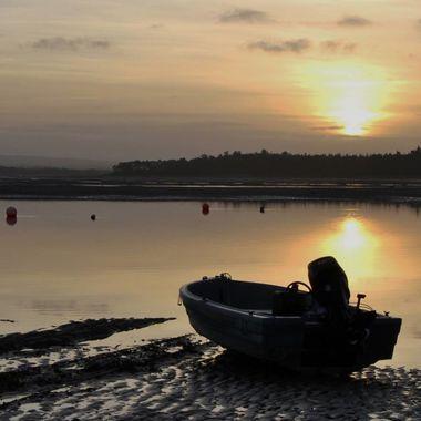 Findhorn bay @ dusk