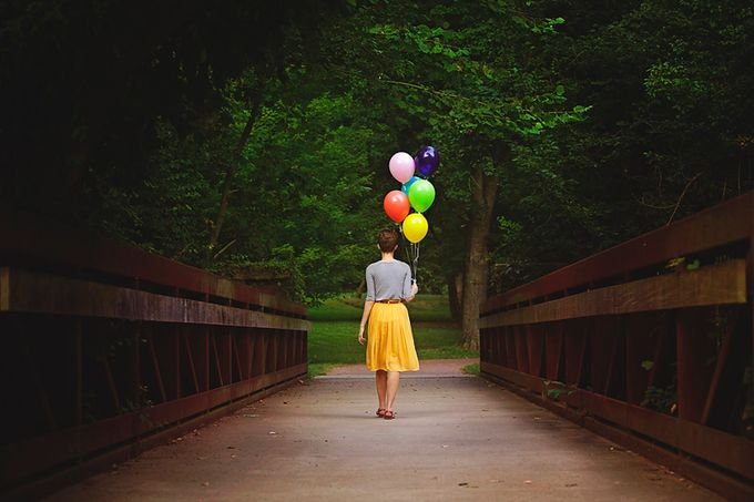 Balloons + Bridges by timmymarsee - Getting Creative Photo Contest