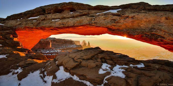 Feb 2016 Sunrise Mesa Arch by jkcorso - Creative Travels Photo Contest