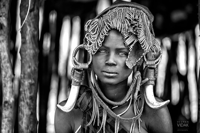 Mursi women by vedranvidak_1401 - Cultures of the World Photo Contest