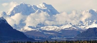 Mt Foraker Alaska 17,400