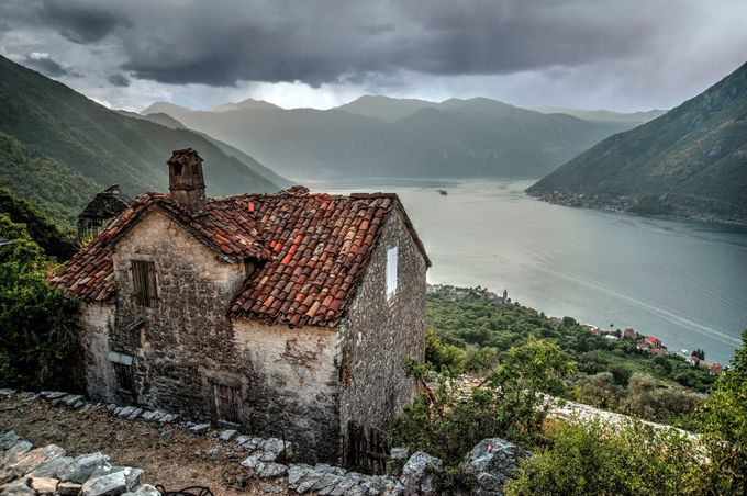 Kotor Bay view by ILIA - Around the World Photo Contest