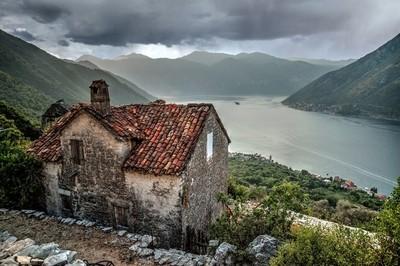 Kotor Bay view
