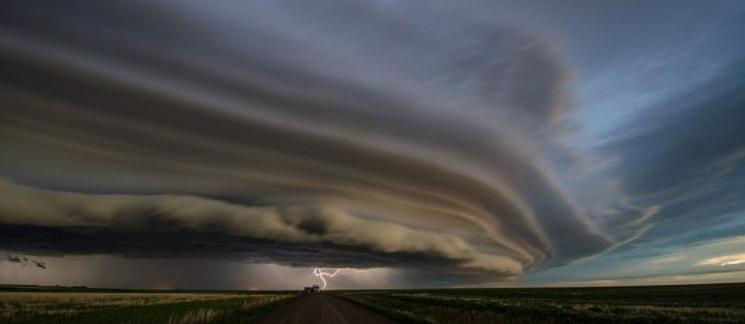 Saskatchewan Storm - June 24, 2013 by braunjo - Fish Eye And Wide Angle Photo Contest