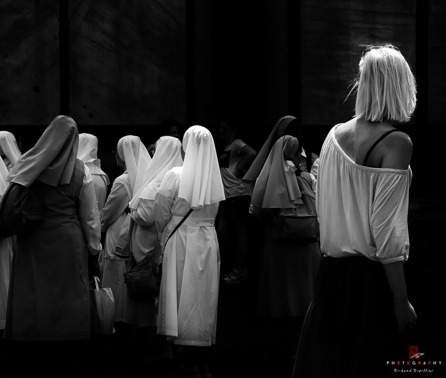 """Street Photography - """"Between the Sacred and the Profane""""- Italy."""