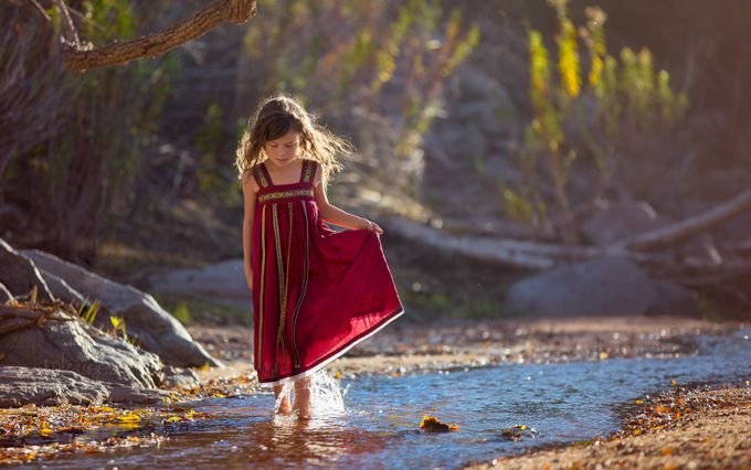 Sunkissed by melissanelsonnoble - Kids And Water Photo Contest