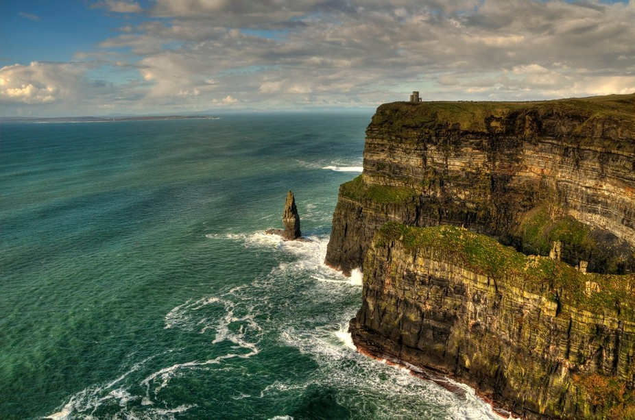 Cliffs of Moher, Ireland, February 2016