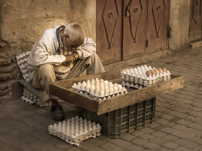Marrakesh Egg Man