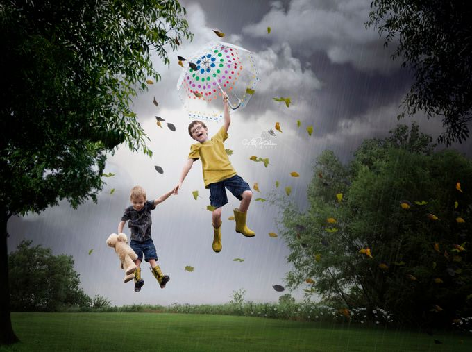 Up Up and Away by AbbyMathison - The Art Of Levitation Photo Contest