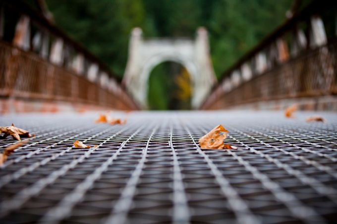 Alexandra Bridge by windycorduroy - Above Or Below Photo Contest