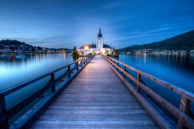 Schloß Ort / Gmunden by krf_foto - The Blue Hour Photo Contest