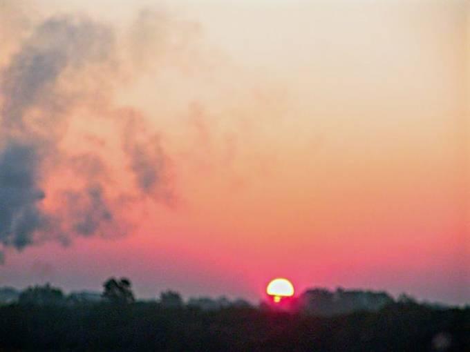 Red sunrise 2