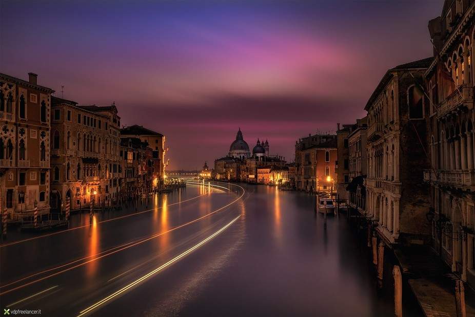 Long exposure in Venice - Italy