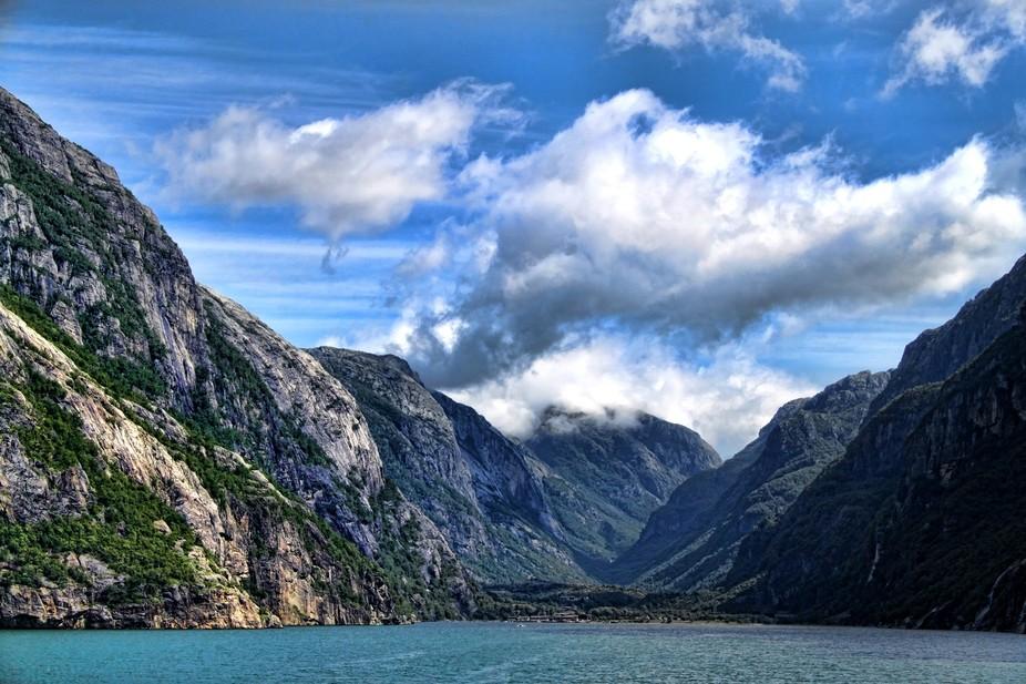 Lysefjorden-Norge