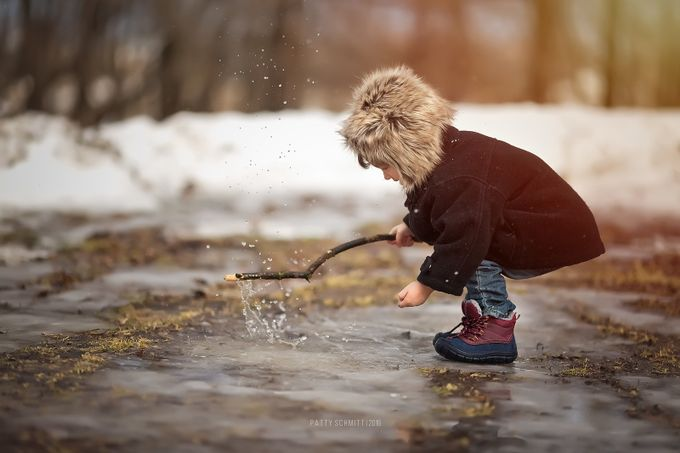 Spring is Coming! by pattyschmitt - Kids And Water Photo Contest