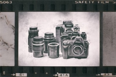 A Collection of Old Nikon Gear