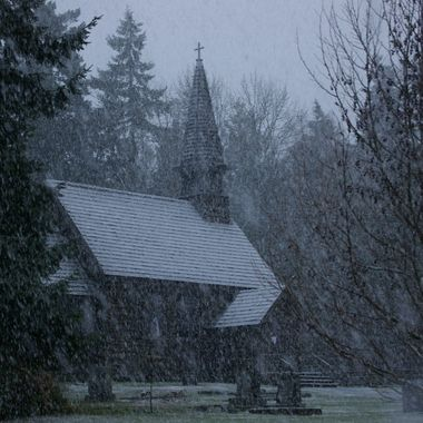St. Anne's Church in Parksville, BC - 6 Nov 2008