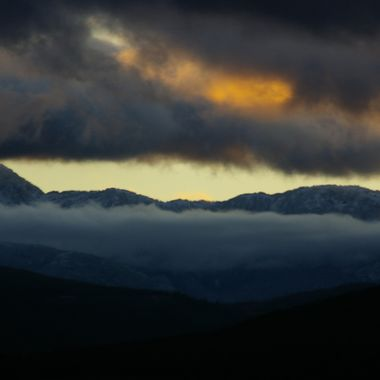 SINISTER SKIES - From Little Mountain in Parksville - 6 Dec 2007