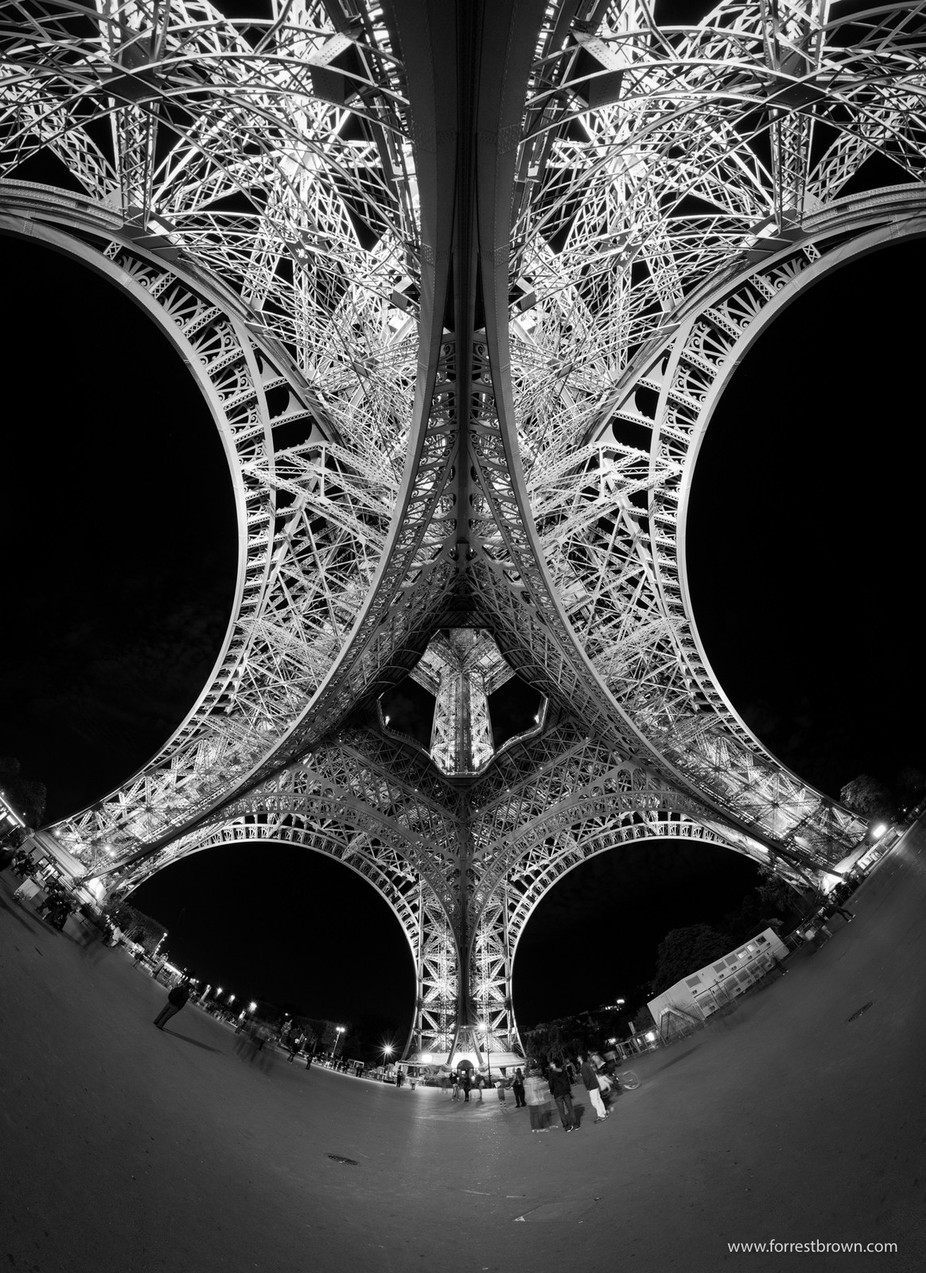 Eiffel Tower by Forrest_Brown - Paris Photo Contest