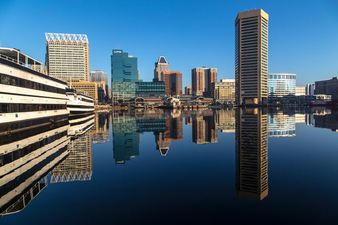 Baltimore Harbor by BruceSaunders - City Views Photo Contest
