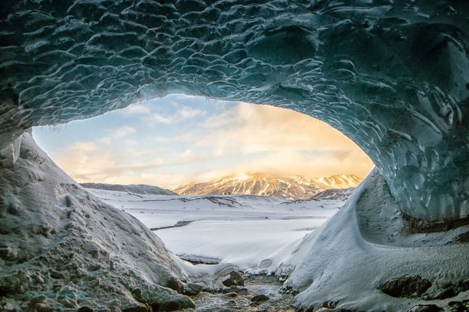 Glacier Ice Cave by jackesoto - Our Natural Planet Photo Contest
