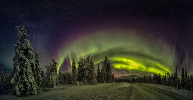 The Aurora Night In Lapland by jarijohnsson - Creative Travels Photo Contest