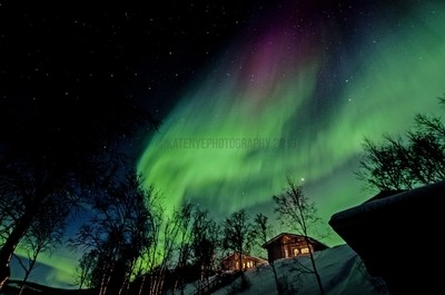 Beautiful Aurora Borealis - Finland