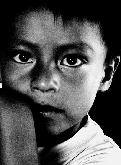 Amazon Village Child