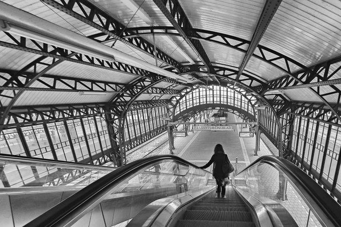 's-Hertogenbosch railway station by iriswaanders - Public Transport Hubs Photo Contest