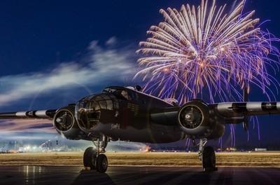 B-25 Fireworks