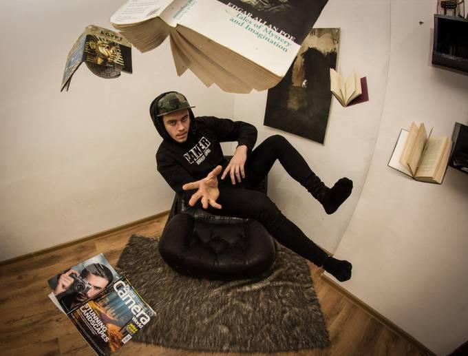 Self Portrait by naurisdollins - Levitation Art Photo Contest