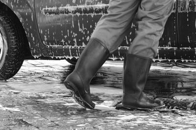 Gumboot carwash