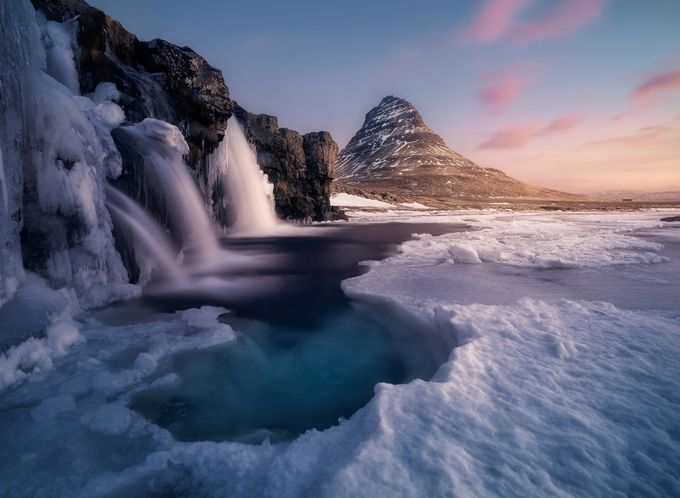 Kirkjufell by lucabenini - Unforgettable Landscapes Photo Contest by Zenfolio