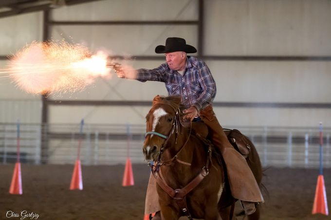 Cowboy Mounted Shooting by Chris_in_CO - Show Movement Photo Contest
