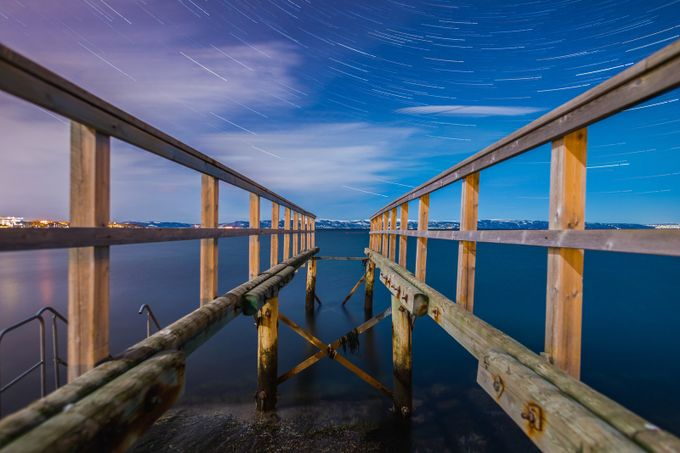 Parallel Startrails by KnutAageDahl - Parallel Compositions Photo Contest
